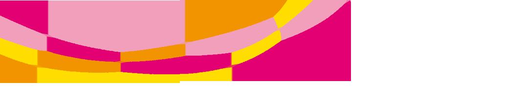 Netz aus farbigen, aufstrebenden Linien